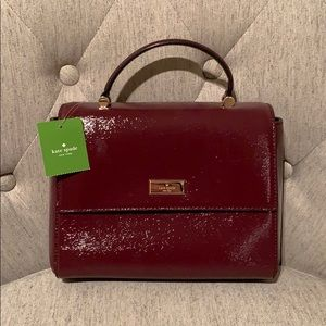 NWT Kate Spade Brynlee Bixby Place in Mulled Wine